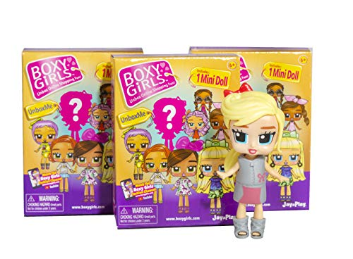 Boxy Girls Mini Limited Edition Suprise Boxes- 6 Assorted Girls