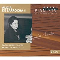 Great Pianists of the 20th Century: Alicia de Larrocha II by Alicia De Larrocha (1999-10-12)