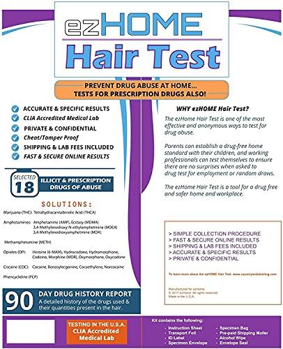 ezHOME Hair Follicle Drug Test