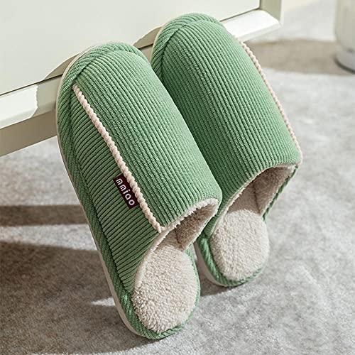 Kirin-1 Pantuflas Invitados,Invierno Interior de Invierno de Las Mujeres de los Deslizadores del algodón del Nuevo estilo-41-42_U