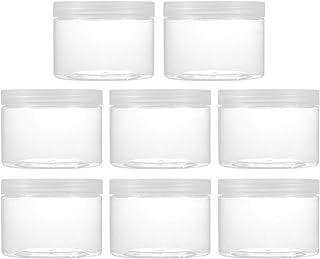 EXCEART 8 stuks nailart doosjes crèmedoos parels opbergbox sorteerdoos crème potje gel potje leeg cosmeticabakje voor lipp...