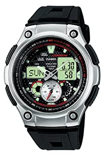 Casio Collection Men's Watch AQ-190W-1AVEF (B002LAS00O) | Amazon price tracker / tracking, Amazon price history charts, Amazon price watches, Amazon price drop alerts