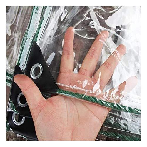 KAISIMYS Cubierta de Mesa de Billar a Prueba de Sombra y Lluvia 100% Lona Transparente, Resistente, Suave, Plegable, 500G / M sup2;Lámina de PVC de 0,5 mm a Prueba de Viento, toldo de jardín a prueb