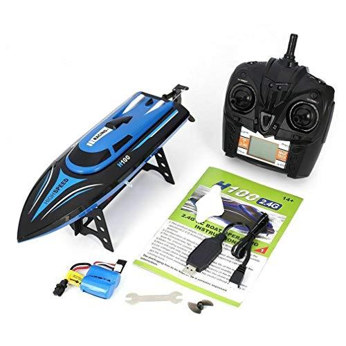 HehiFRlark - Mando a distancia para barco, velocidad de carreras de alta velocidad, enfriado por agua, RC fuera borde, juguete