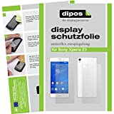 dipos I 2X Schutzfolie matt kompatibel mit Sony Xperia Z3+ / Z4 Folie Bildschirmschutzfolie