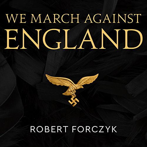 We March Against England audiobook cover art
