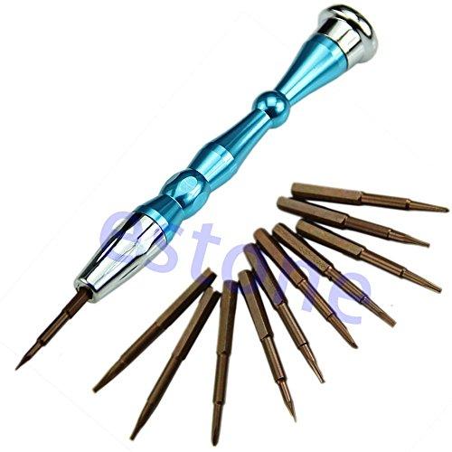10 in1 Reparatie Opening Tools Kit Schroevendraaiers Set Voor Tablet iPhone Samsung HTC