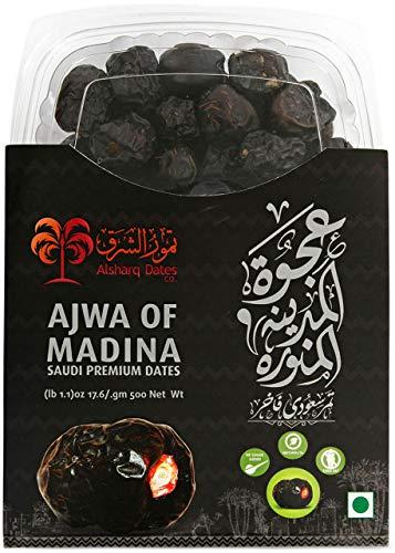 KoRo - Ajwa Datteln 500 g - Ungeschwefelte Trockenfrüchte ohne Zuckerzusatz - Wertvolle Alternative zu Süßigkeiten