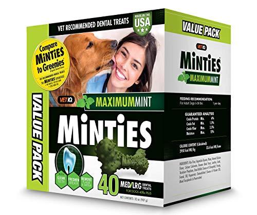 Minties VetIQ Dental Dog Treats