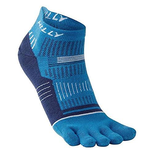 Hilly Clothing Unisex Toe Sock – Socklet Running Socken Unisex L blau