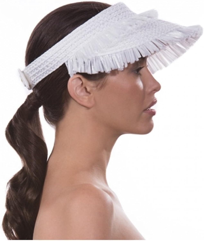 Eric Javits Women's Headwear Tiki Visor Hat