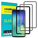 """omitium Protector Pantalla para Samsung Galaxy S10e, [2 Pack] Samsung Galaxy S10e Cristal Templado [Cobertura máxima][ [Marco Instalación Fácil] Dureza 9H Vidrio Templado Samsung Galaxy S10e, 5,8"""""""