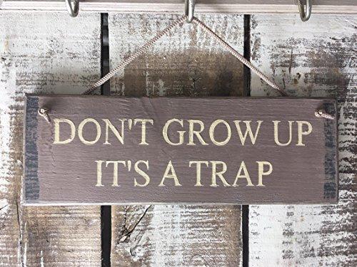 Yohoba Don't Grow Up It's A Trap Divertido Regalo de 50 Cumpleaños Regalo para Hombres Regalo para El/Ella Divertido Regalo de Cumpleaños Divertido Regalo de Cumpleaños