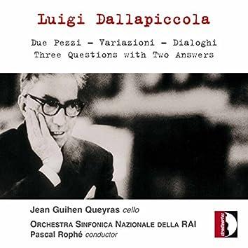 Dallapiccola: Orchestral Works