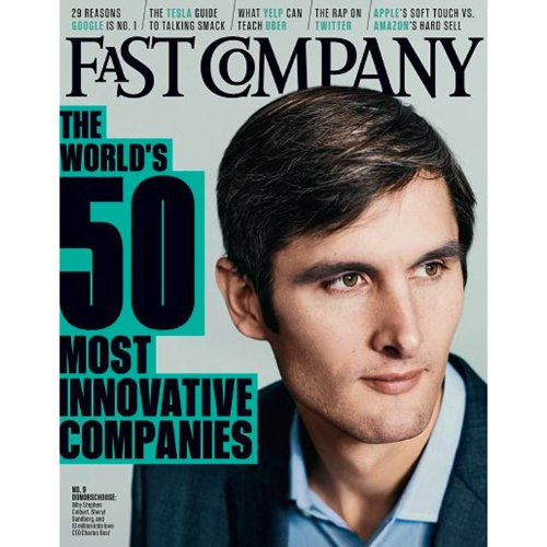 Audible Fast Company, March 2014 audiobook cover art