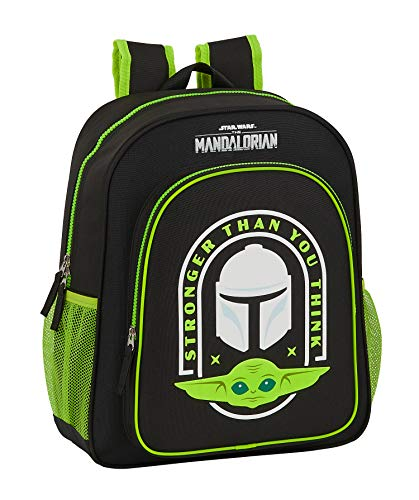 Safta 612041640 Mochila Escolar Junior The Mandalorian