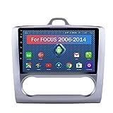 Android Car GPSナビゲーションステレオDVDプレーヤー2G / 32G 9インチHDタッチスクリーンフィットフォードフォーカス(2006-2014)サポートWiFi + 4GミラーリンクAM FM RDS SWC 1080P DSP USB