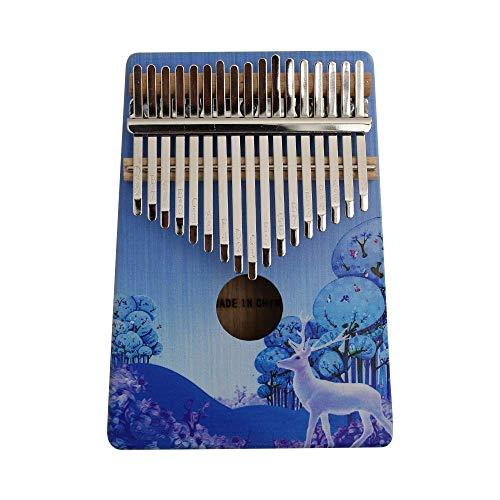 Rakuby カリンバ 17キー 親指ピアノ Kalimba ポータブル 木製 愛好家/初心者/学生 楽器 ギフト