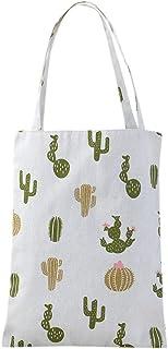 Wogo Women's Canvas Shoulder Bag Tote Bag Fresh Environmental Protection Canvas Bag