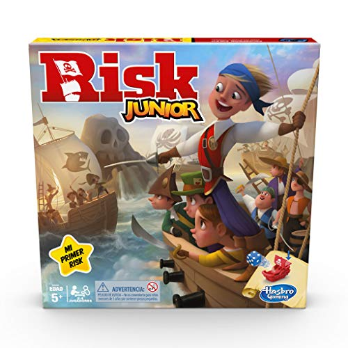Hasbro Gaming- Risk Junior, Multicolor (E6936105)