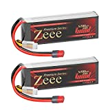 Zeee Premium Series 3S 5200mAh Lipo Battery 11.1V 100C Soft Case Battery with Deans T Connector for RC Plane DJI Quadcopter RC Airplane RC Helicopter RC Car Truck Boat(2 Pack)