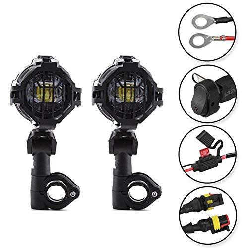 Blentude Motorrad Nebelscheinwerfer LED Zusatzscheinwerfer Set Für R1200GS F800GS