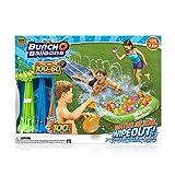 Bunch O Balloons Zuru Water Slide Wipeout – Wasserrutsche inklusive 3 x Bündel Wasserbomben