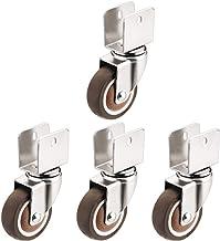 Silent U-multiplex Soft Furniture Crib Universal Caster Pulley Accessoires Roller Universal Wheel 4st