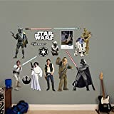 FATHEAD Star Wars: Original Trilogy Characters Collection-X-Large Officially Licensed Removable Wall Decal