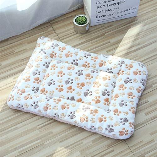 XU TAO Haustierhundmatten Hundebetten, Dicke Decken für Haustiere im Winter, Cartoon-Zwinger für Haustiere, warme Schlafmatten für Hunde mit Baumwollquilts (Color : 12, Size : 4 65x45cm)