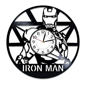 We have clocks with VARIOUS DESIGNS featuring characters from your favorite movies, TV shows, comics and cartoons. UNIQUE GIFT FOR ANY OCCASION: Birthday, Wedding, New Year, Anniversary, Christmas, Mother's Day, Father's Day and Valentine's Day. Viny...
