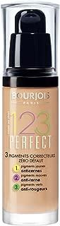 Bourjois 123 Perfect Medium Coverage Liquid Foundation 53 Light Beige, 3ml