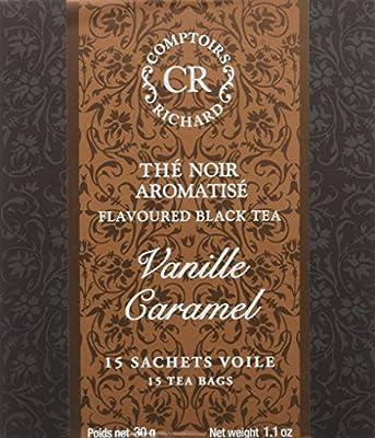 Comptoirs Richard Thé Noir Vanille Caramel 15 Sachets 30 g parent