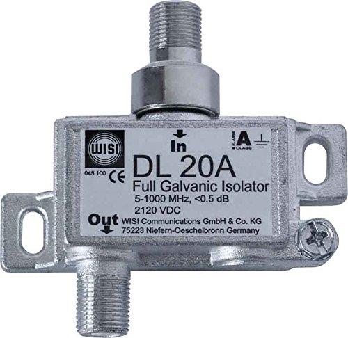 Wisi Galvanisches Trennglied DL20A Komponente für Erdung/Potenzialausgleich (Schaltschrank) 4010056177522