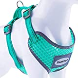 ThinkPet Reflective Breathable Soft Air Mesh No Pull Puppy Choke Free...