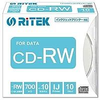 CD-RW700.PW10P A デ-タ用 CD-RW 700MB 繰り返し記録 プリンタブル 10