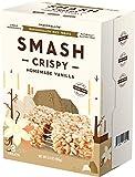 Homemade Vanilla Rice Crispy by SMASHMALLOW | Non-GMO | Organic Cane Sugar | Gluten Free | Peanut Free | 8 Count
