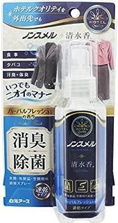 ノンスメル清水香 衣類・布製品・空間用スプレー 携帯用 ハーバルフレッシュ 100ML