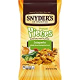 Snyder's of Hanover Pretzel Pieces, Jalapeno, 12 Ounce Bag (Pack of 12)