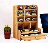 Catekro Boîte de rangement de bureau grande capacité, fournitures de bureau...
