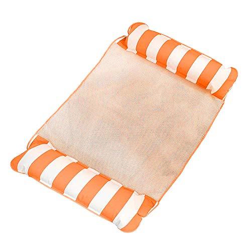 Wodeni Opblaasbare water-hangmat, beweegbaar bed, draagbaar, voor zwembaden in de open lucht
