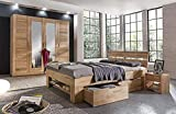 Eternity-Moebel24 Futonbett Schlafzimmerbett – FANO – Massivholzbett Kernbuche massiv inkl. Bettkästen u. Fußteil in 2 Größen (140 x 200 cm) - 4