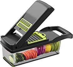 Cortador de vegetais e acessórios de cozinha, cortador de frutas, cortador multifuncional de vegetais, cortador de vegetai...