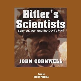 Hitler's Scientists audiobook cover art