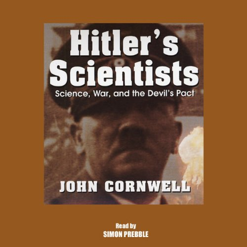 Hitler's Scientists audiobook cover art