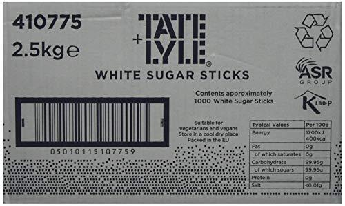 Tate & Lyle Sugars White Sugar Sticks (Pack of 1000)