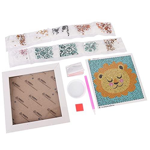 Pintura de diamante, materiales de pintura de diamante, juguetes educativos hechos a mano para adultos y niños, pintura para decoración de pared del hogar (12)