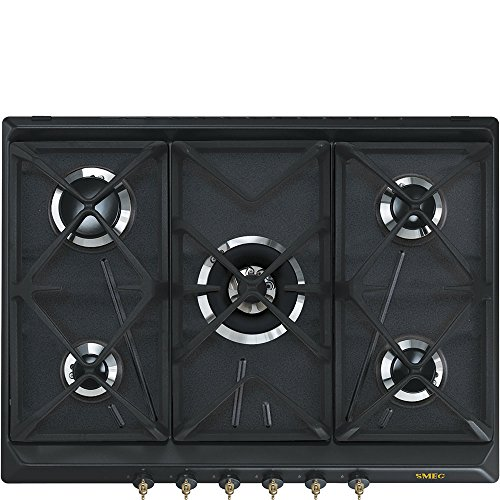 SMEG; Plaque de cuisson à gaz (SRV876AOGH)