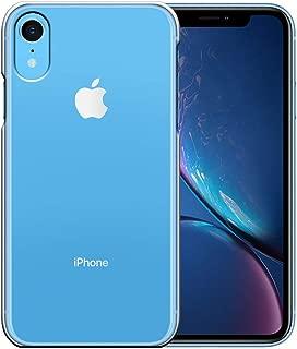 アイフォン XR ケース Apple iPhone XR カバー ハードケース スマホケース 液晶保護フィルム付 全機種対応 ☆透明 [Breeze-正規品] [IXR1000UZ]