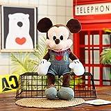 Peluches, Peluches de Mickey Minnie Mouse, Muñecos de Peluche, Lindos muñecos de Peluche de Mickey Minnie, Juguetes interactivos de Felpa, Regalos de cumpleaños para niños, 50 cm (19,6 Pulgadas) C